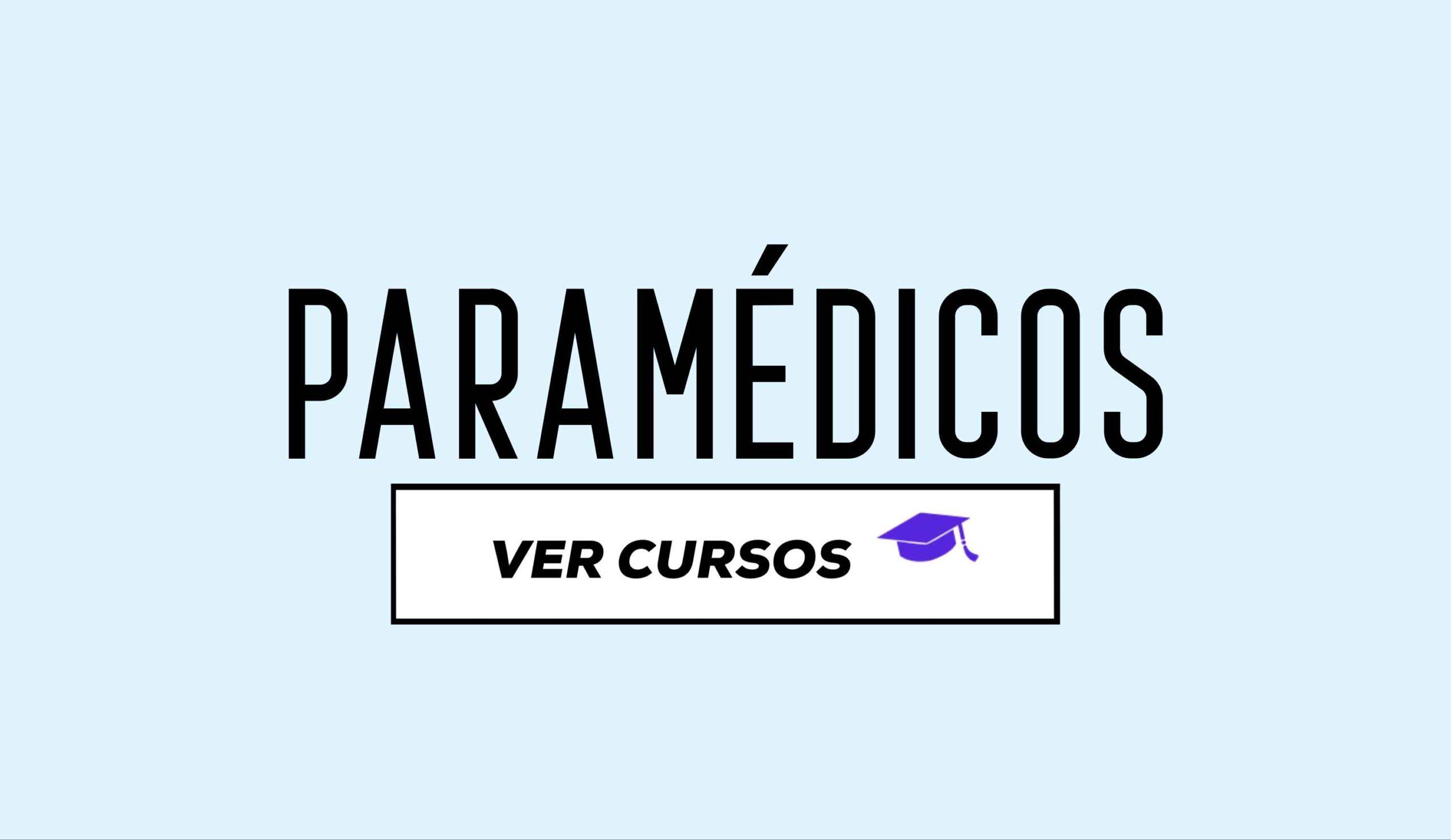 cursos paramedicos cente